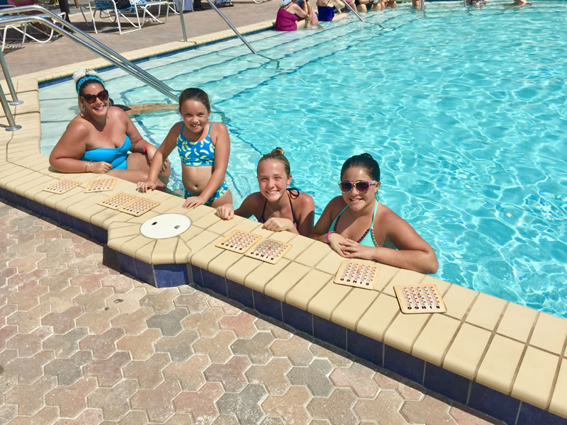 Pool Bingo - Casa Del Mar Beach Resort & Timeshare